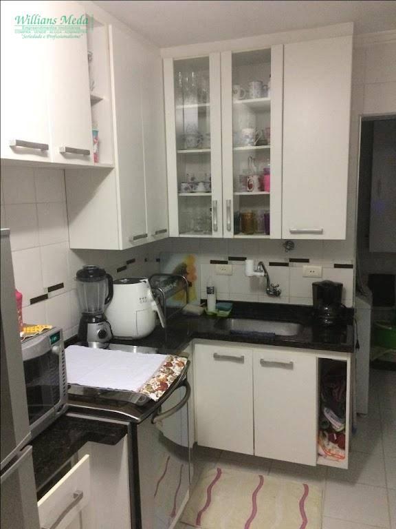 Apartamento com 2 dormitórios à venda, 60 m² por R$ 245.000,00 - Vila Nossa Senhora de Fátima - Guarulhos/SP
