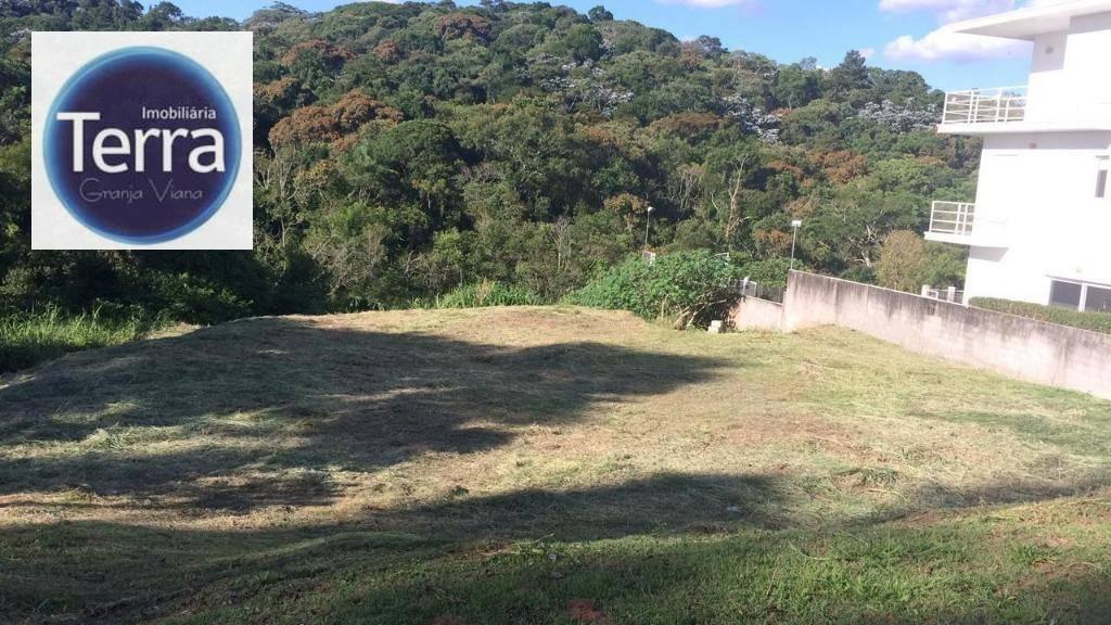 Terreno à venda, 1000 m² por R$ 540.000 - Parque das Artes -Granja Viana
