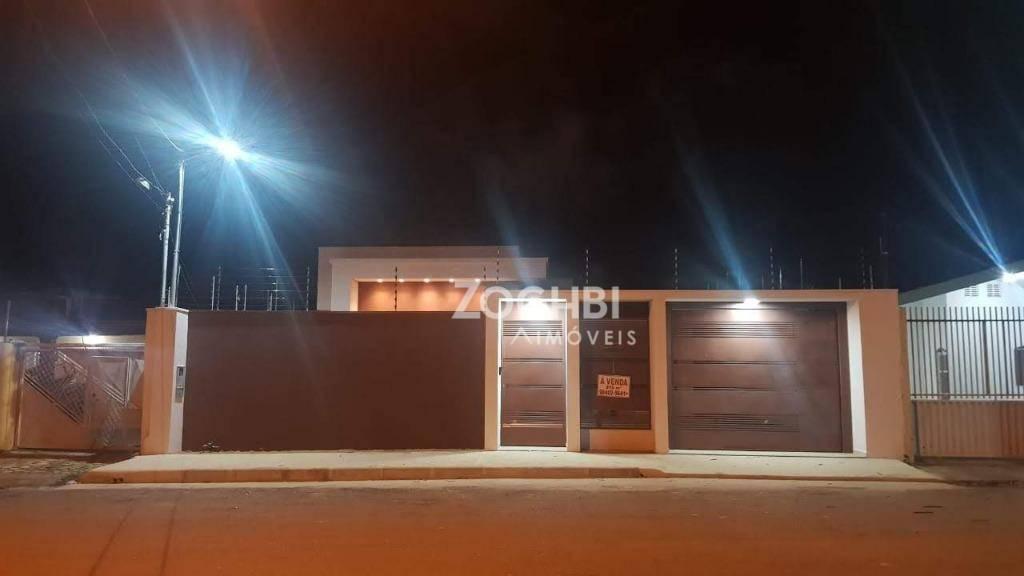 Casa Moderna com 3 quartos suítes no São João Bosco- Porto Velho