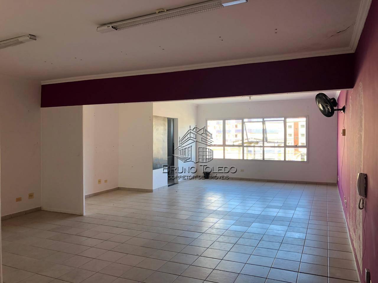 Sala para alugar, 72 m² por R$ 1.300/mês - Vila Tupi - Praia Grande/SP