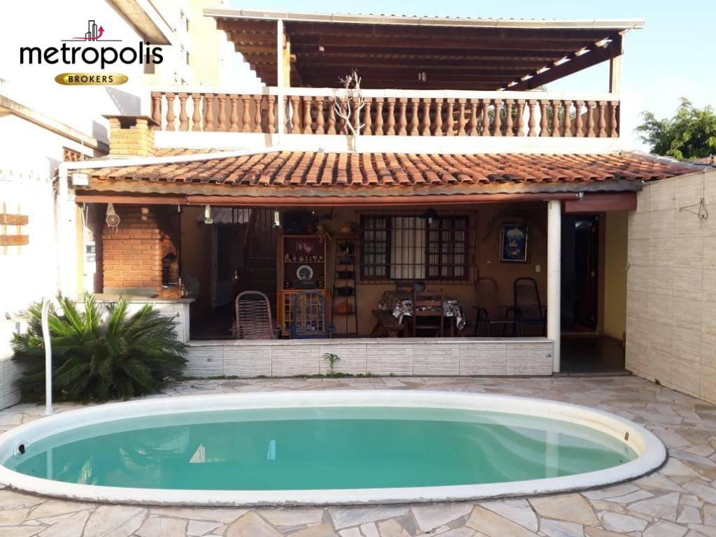 Sobrado com 3 dormitórios à venda por R$ 850.000 - Vila Valp
