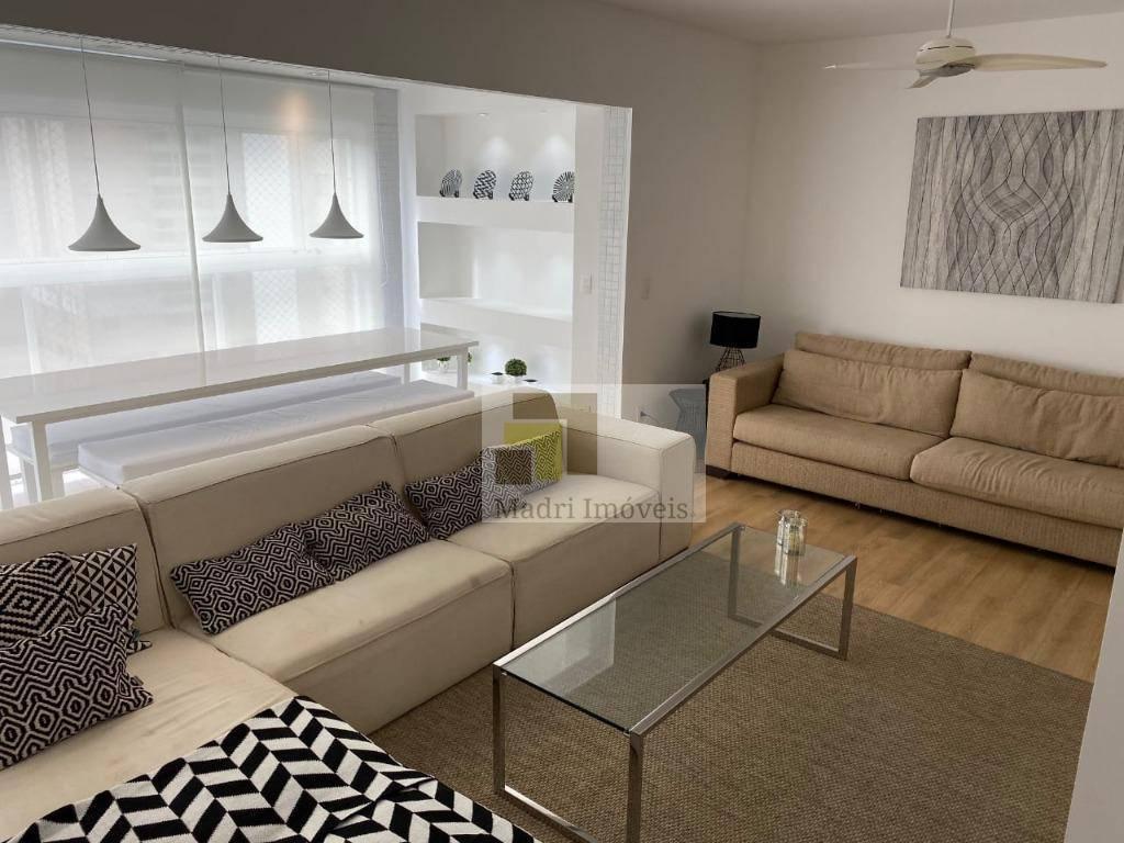 Apartamento com 3 dormitórios à venda, 111 m² por R$ 750.000,00 - Ponta da Praia - Santos/SP