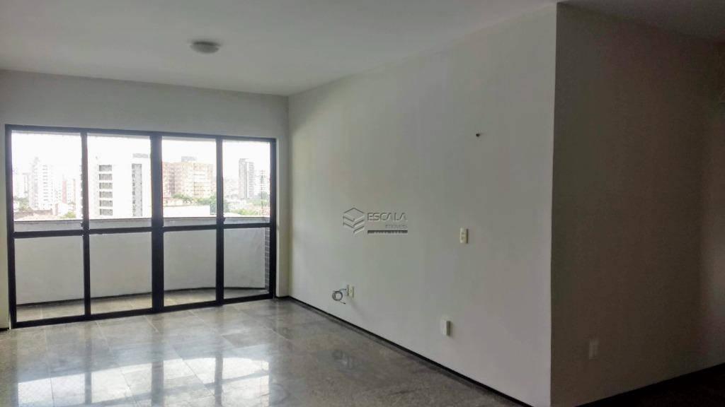 Apartamento com 4 quartos à venda, 117 m², 2 vagas, financia - Varjota - Fortaleza/CE