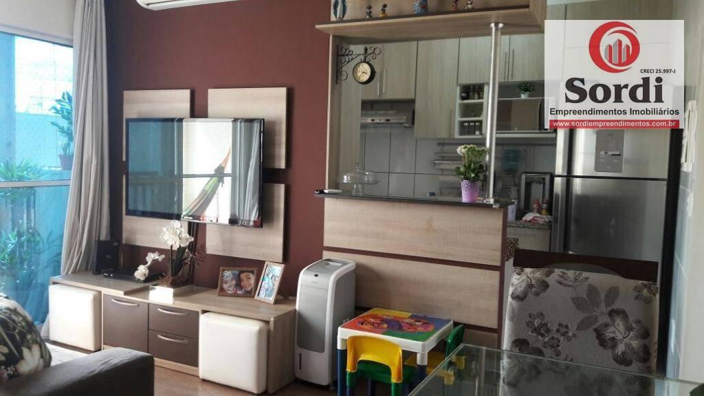 Apartamento residencial à venda, Sumarezinho, Ribeirão Preto.