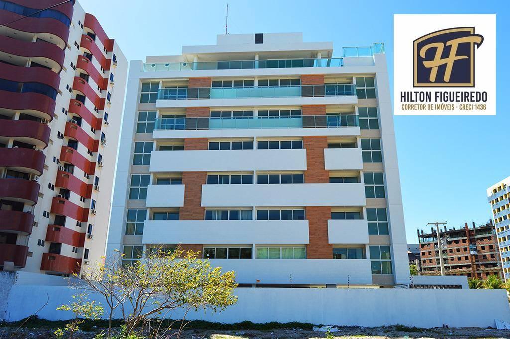 Flat com 1 dormitório à venda, 28 m² por R$ 140.000,00 - Intermares - Cabedelo/PB