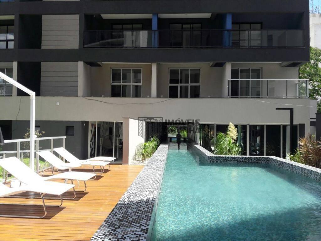 Studio residencial à venda, Vila Olímpia, São Paulo.