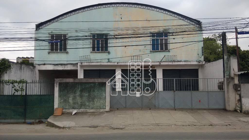 Galpão comercial à venda, Alcântara, São Gonçalo - GA0003.
