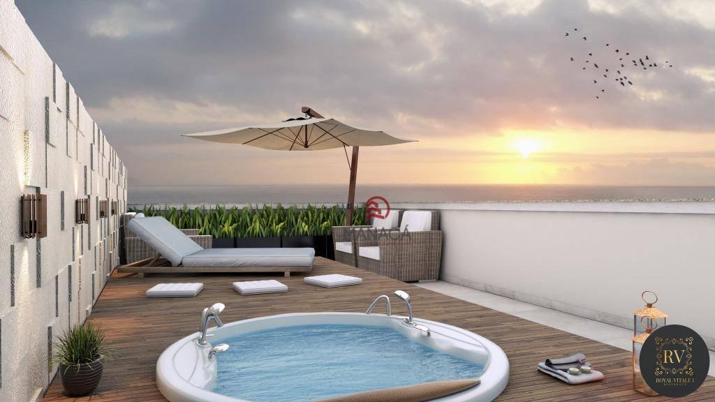 Apartamento com 2 dormitórios à venda, 130 m² por R$ 339.000 - Itacolomi - Balneário Piçarras/SC