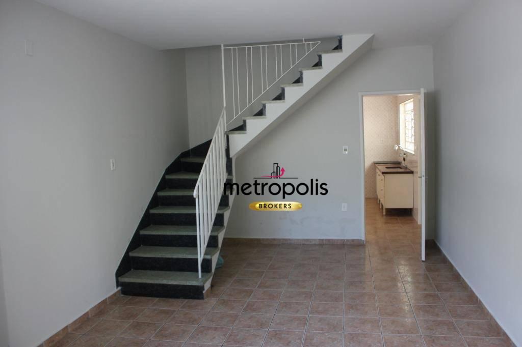 Sobrado com 3 dormitórios para alugar, 120 m² por R$ 2.200/mês - Osvaldo Cruz - São Caetano do Sul/SP