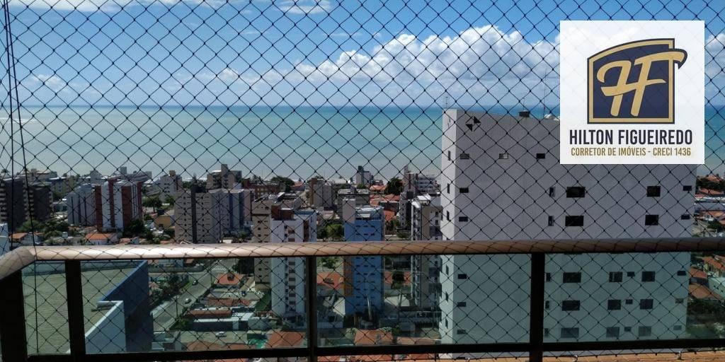 Apartamento com 1 dormitório para alugar por R$ 1.600/mês - Manaíra - João Pessoa/PB