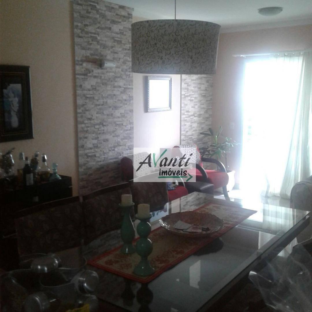 Apartamento com 3 dormitórios à venda, 77 m² por R$ 512.000,00 - Ponta da Praia - Santos/SP