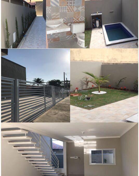 Sobrado residencial à venda, Campos Elíseos, Itanhaém.