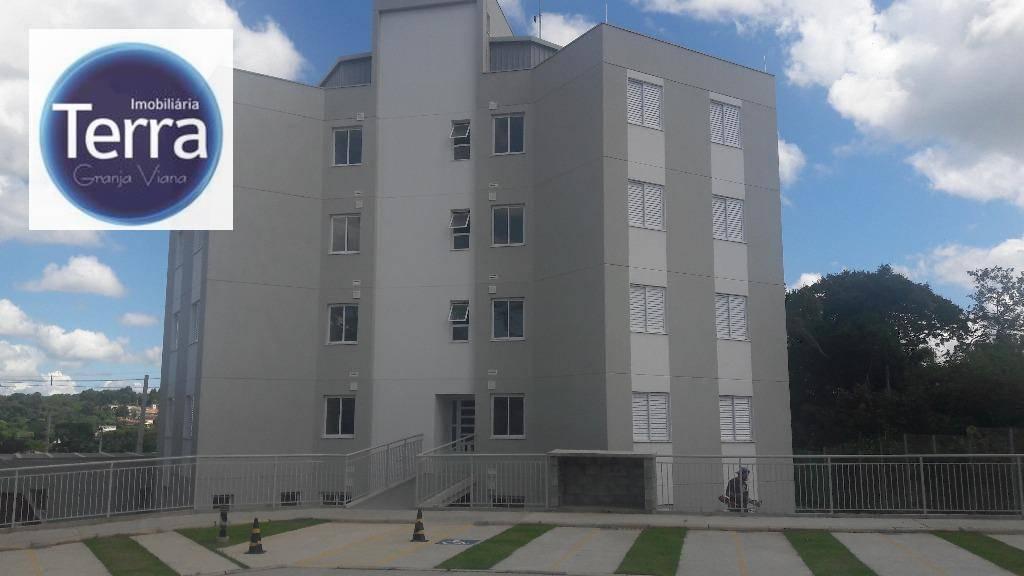 Apartamento residencial à venda, Brilhos do Tijuco, Granja Viana.