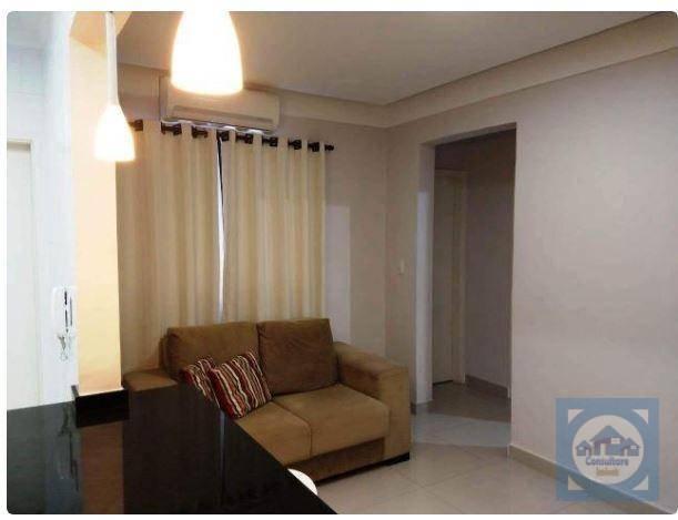 Apartamento com 2 dormitórios à venda, 58 m² por R$ 245.000 - Vila Guilhermina - Praia Grande/SP