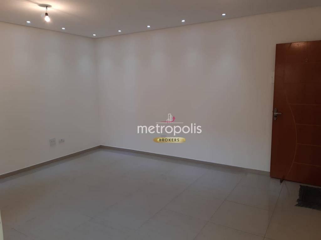 Apartamento com 3 dormitórios à venda, 90 m² por R$ 400.000 - Parque das Nações - Santo André/SP