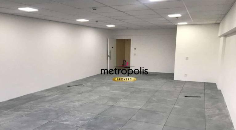 Sala para alugar, 51 m² por R$ 2.000/mês - Cerâmica - São Caetano do Sul/SP