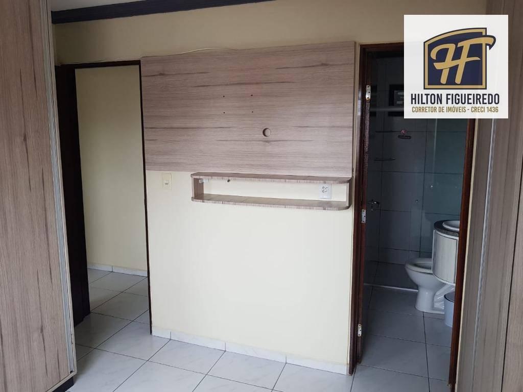 vendo apto 2 quartos - s 1 suite, 58 m², sla, coz, wsc, pisc, salao de festa, vaga. R$ 180 mil ou aluguel R$ 950 c/ condomínio
