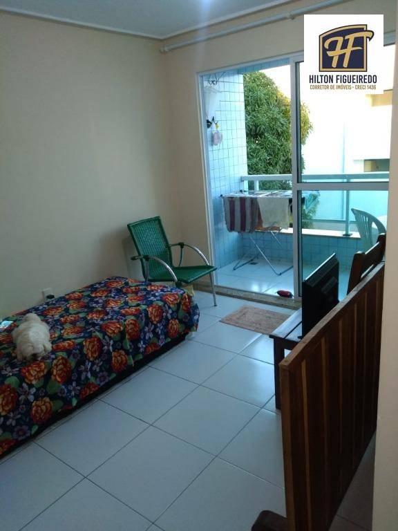Apartamento com 2 dormitórios à venda, 64 m² por R$ 179.000,00 - Bessa - João Pessoa/PB