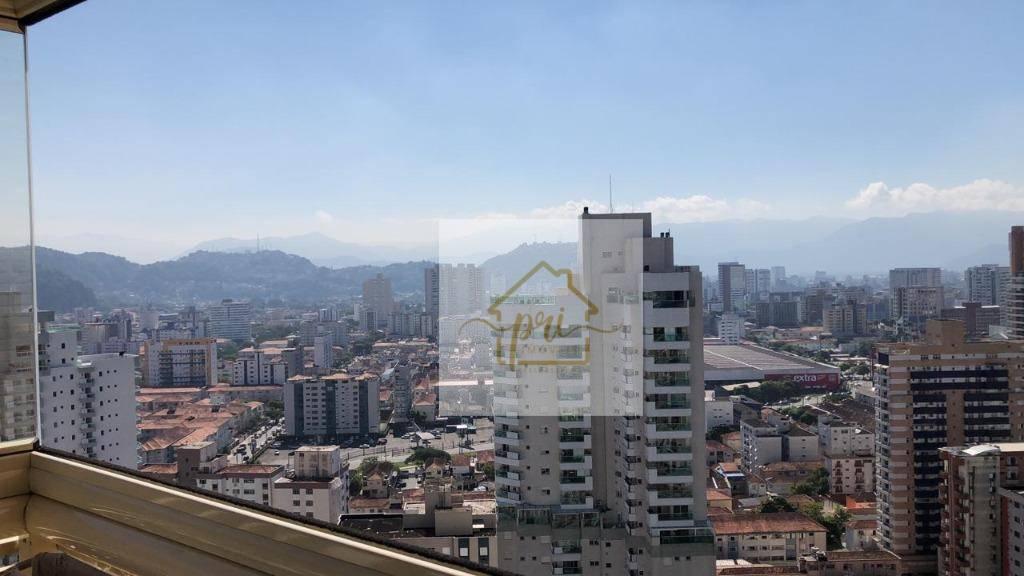 Apartamento à venda, 111 m² por R$ 950.000,00 - Gonzaga - Santos/SP