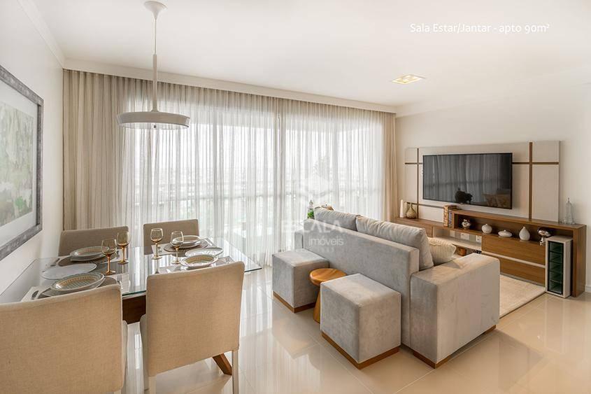 Apartamento com 3 quartos à venda, 67 m², novo, 2 vagas, área de lazer, financia - Benfica - Fortaleza/CE