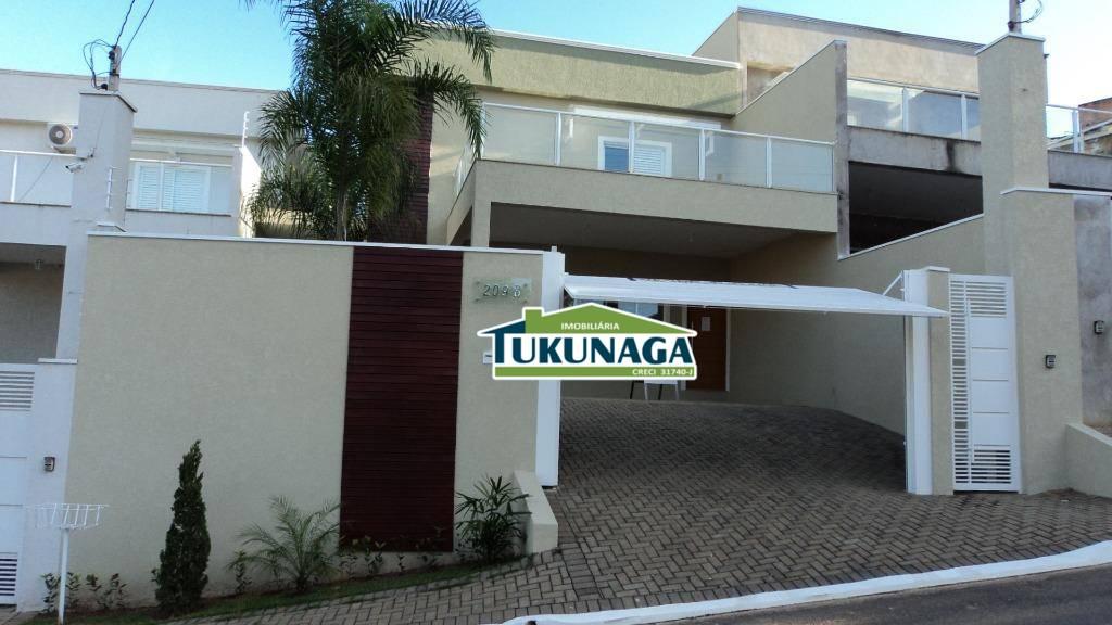 Sobrado à venda, 250 m² por R$ 950.000 - Jardim Paulista - Atibaia/SP