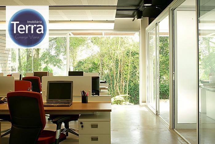 Sala para alugar, 112 m² por R$ 6.000/mês - Granja Viana .
