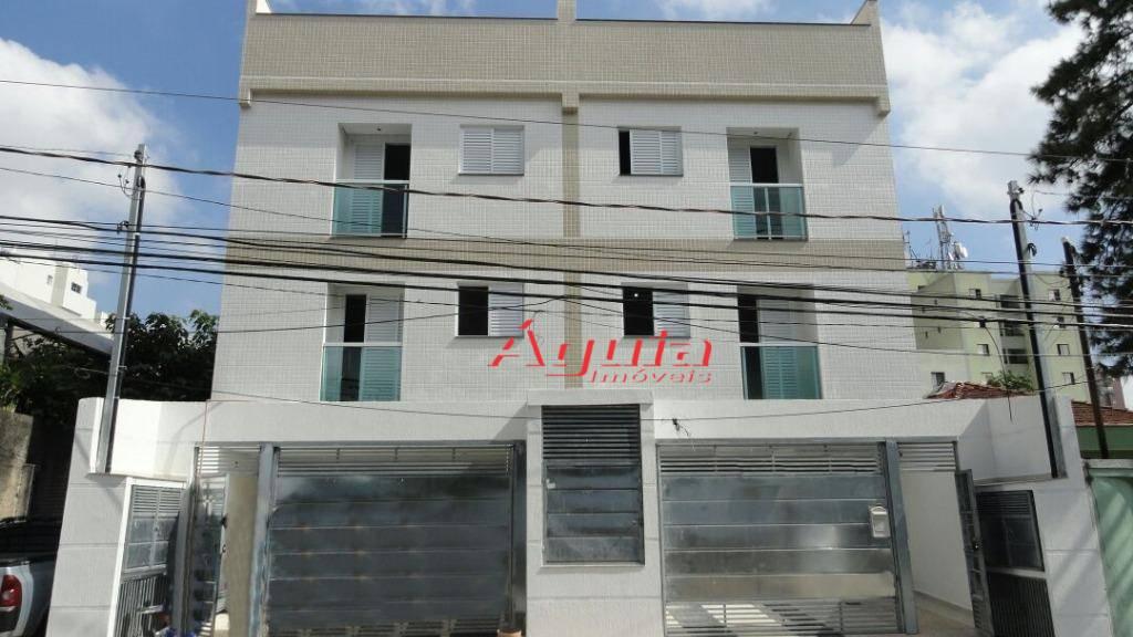 Cobertura residencial à venda, Vila Homero Thon, Santo André.