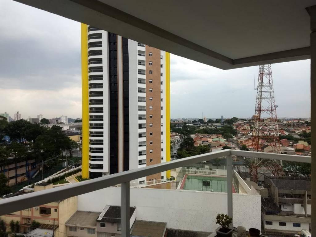 Apartamento mobiliado com 2 dormitórios para alugar, 57 m² por R$ 2.450/mês - Jardim - Santo André/SP