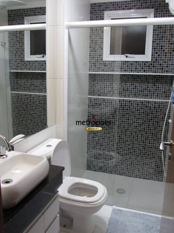 Apartamento com 3 dormitórios à venda, 99 m² por R$ 560.000 - Campestre - Santo André/SP