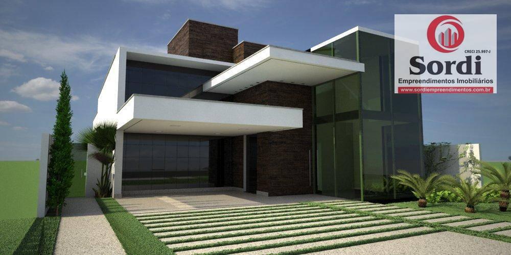 Sobrado à venda, 370 m² por R$ 1.800.000,00 - Alphaville III - Ribeirão Preto/SP