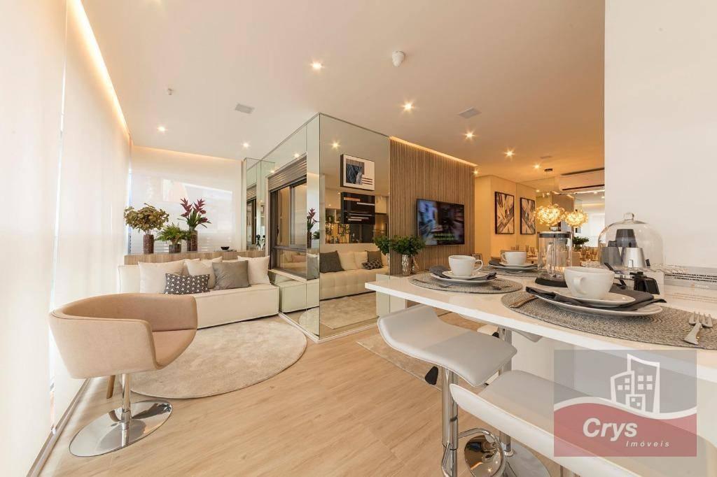 Apartamento com 3 dormitórios à venda, 107 m² por R$ 1.165.000 - Vila Anglo Brasileira - São Paulo/SP