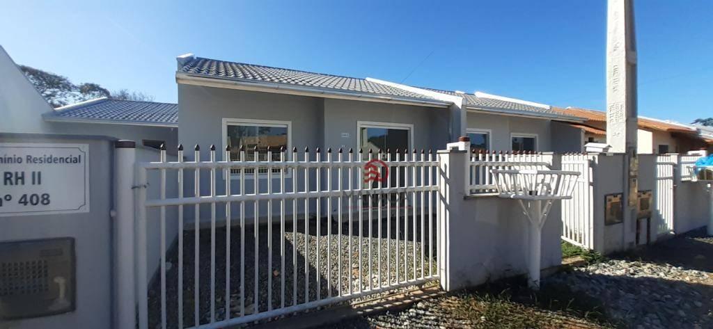 Casa com 2 dormitórios para alugar, 48 m² por R$ 650,00/mês - Quinta dos Açorianos - Barra Velha/SC