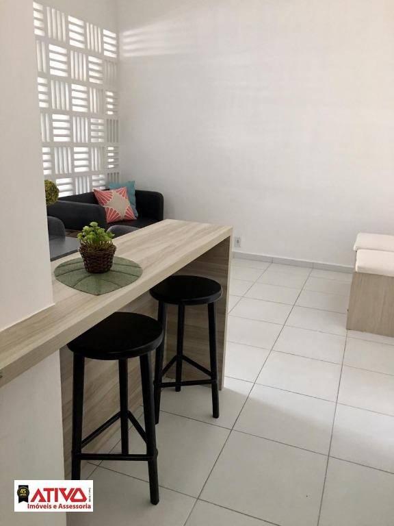 Kitnet com 1 dormitório à venda, 45 m² por R$ 220.000,00 - Jardim Chácara Inglesa - São Bernardo do Campo/SP