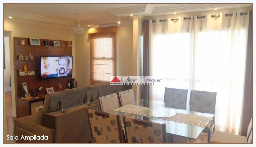 Apartamento à venda, 68 m² por R$ 348.000,00 - Jaguaribe - Osasco/SP