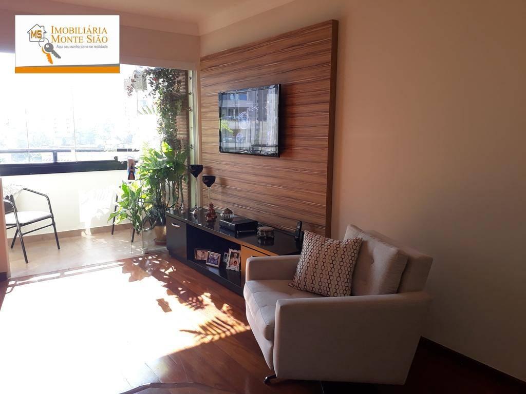 Lindo Apartamento no Centro com 3 dormitórios, 90 m² - Vila Moreira - Guarulhos/SP