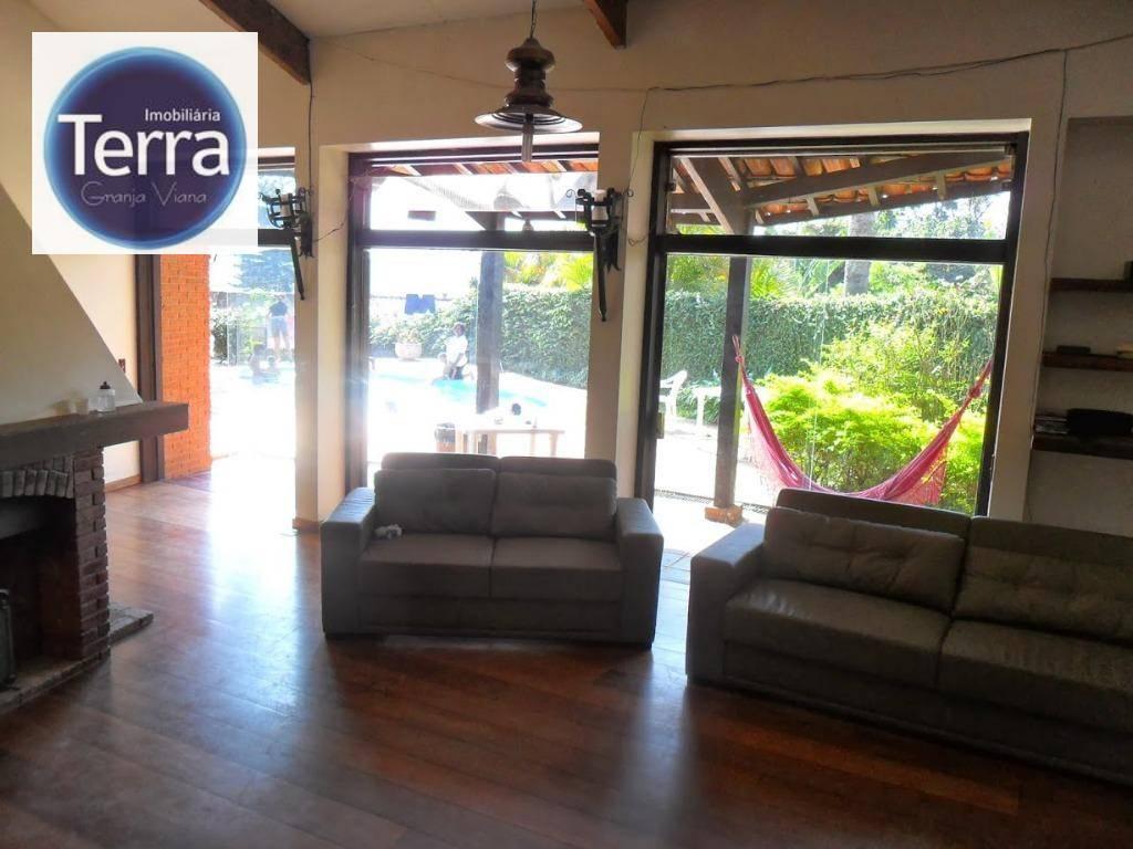 Casa com 3 dormitórios à venda, 450 m² por R$ 980.000 - Chácara do Peroba - Granja Viana