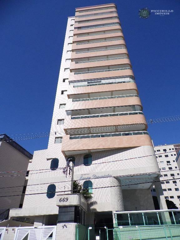 Apartamento 2 dormitórios, 78 m², R$ 285 mil, Aviação, Praia Grande/SP
