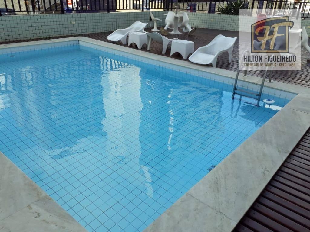 Apartamento com 3 dormitórios para alugar, 115 m² por R$ 2.300/ano - Manaíra - João Pessoa/PB