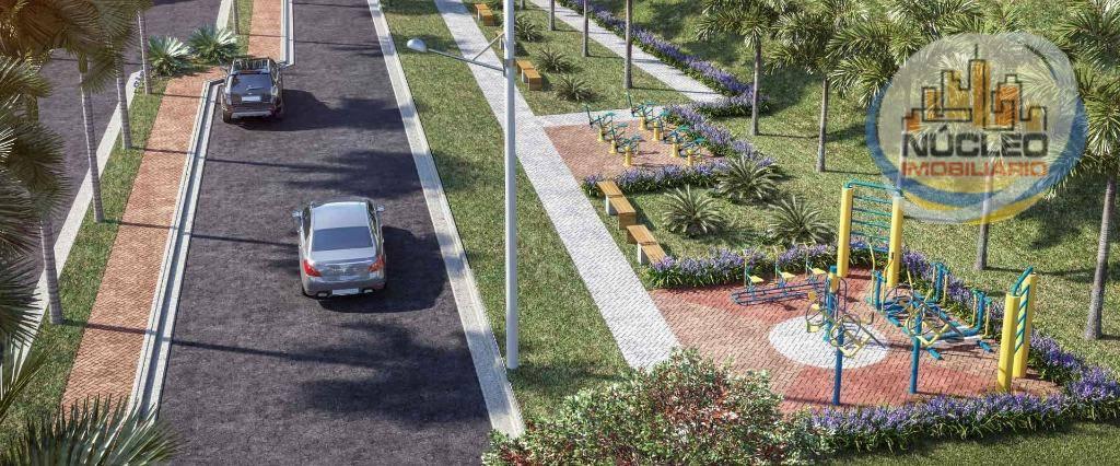 Terreno em condomínio à venda, 240 m² por R$ 135.000,00
