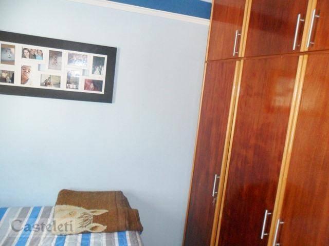 Apartamento de 3 dormitórios à venda em Conjunto Residencial Souza Queiroz, Campinas - SP