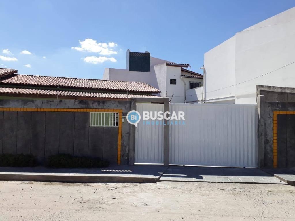 Casa com 4 dormitórios para alugar, 300 m² por R$ 1.500/mês - Queimadinha - Feira de Santana/BA