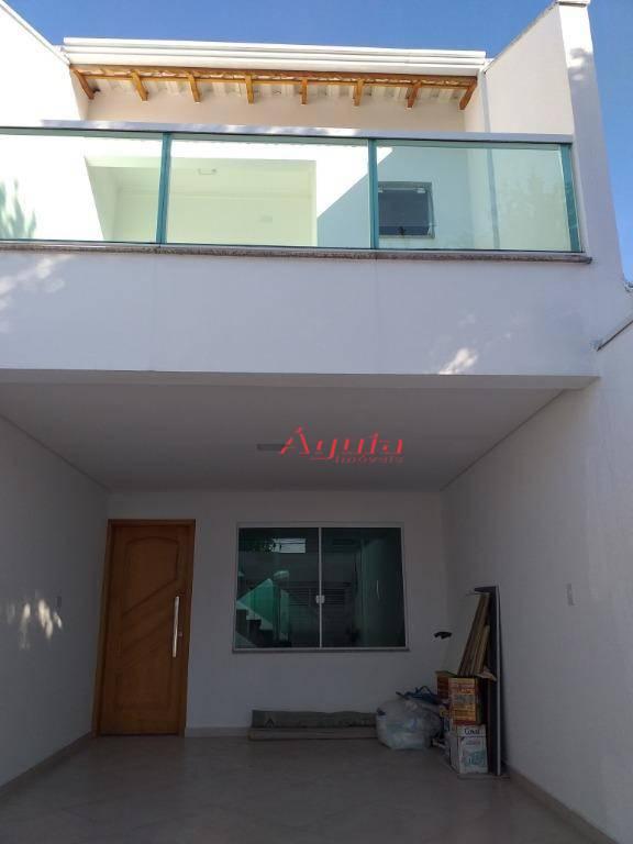Sobrado com 2 dormitórios à venda por R$ 499.999 - Santa Teresinha - Santo André/SP