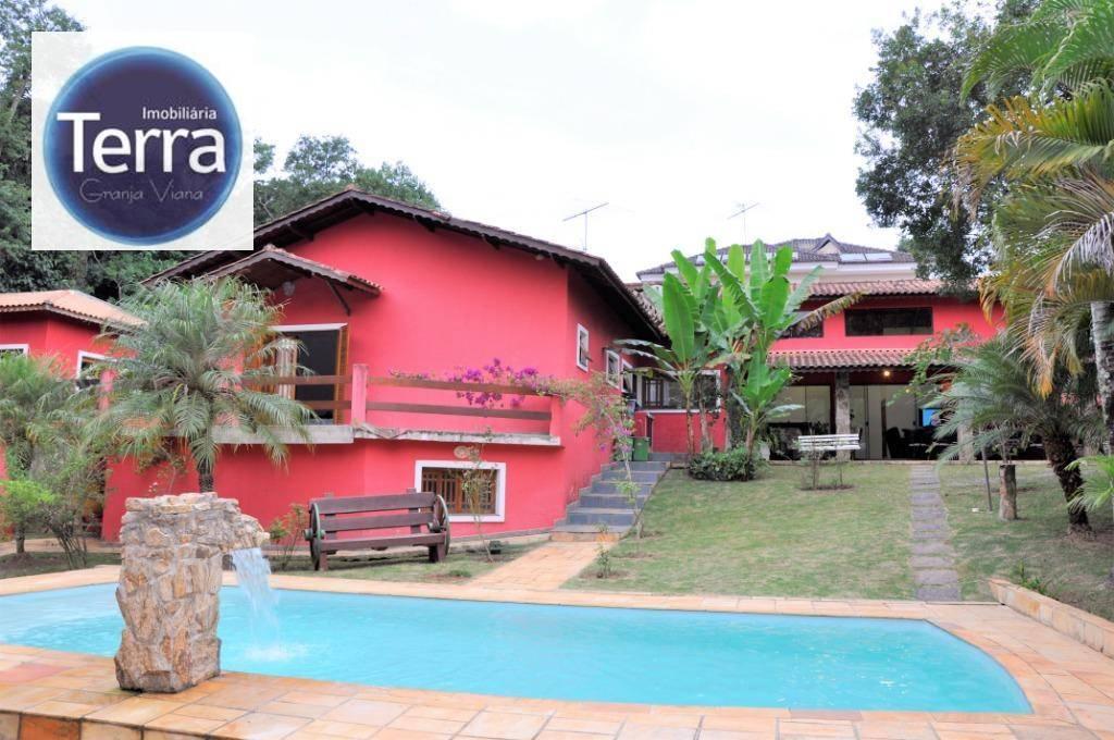 Casa com 4 dormitórios à venda, 1113 m² por R$ 2.600.000 - Vila Verde - Granja Viana