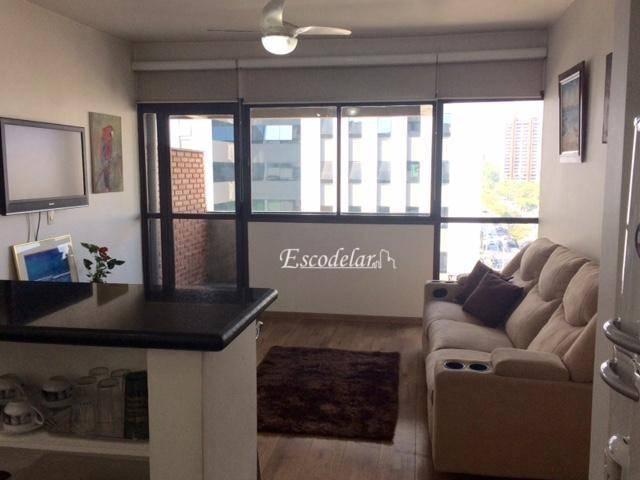 Flat residencial para venda e locação, Alphaville Industrial, Barueri.