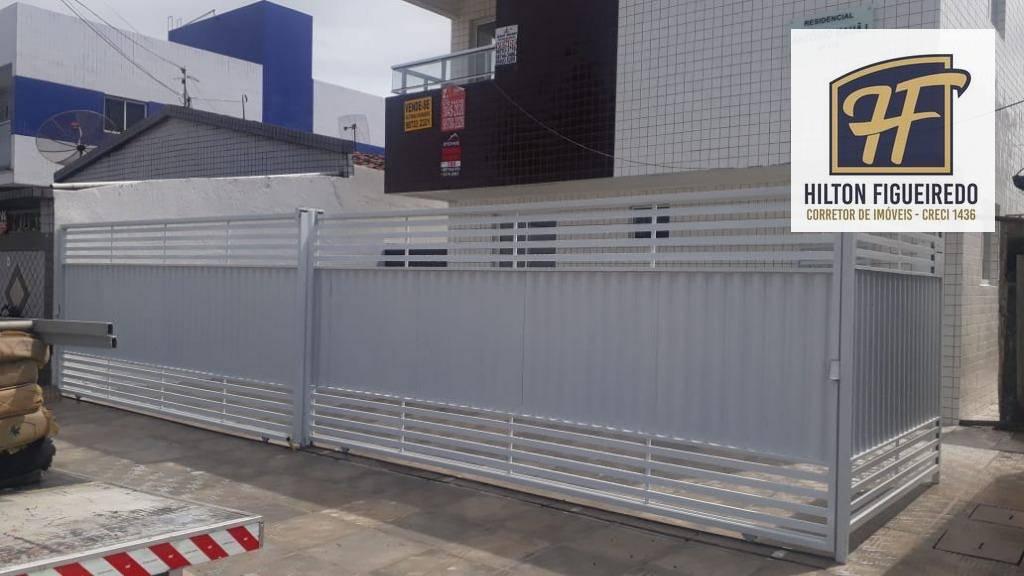 Vendo apartamento térreo, com 2 dormitórios à venda, 44 m² por R$ 145.000 - Ernesto Geisel - João Pessoa/PB - OPORTUNIDADE