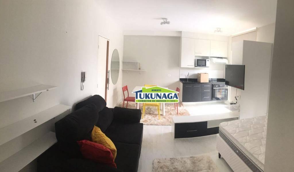 Studio com 1 dormitório para alugar, 36 m² por R$ 1.650/mês - Vila Augusta - Guarulhos/SP