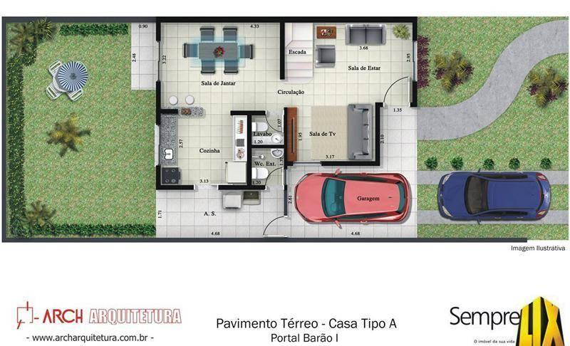 Casa 3 Dorm, Bosque de Barão Geraldo, Campinas (CA1371) - Foto 5