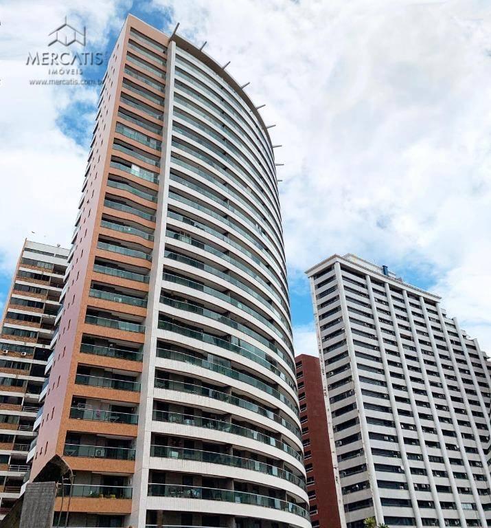 Cobertura Duplex à venda  |  Ed. Mar & Mar  |  Bairro Meireles  |   Fortaleza  -  CE  | (CNA A.M.) -