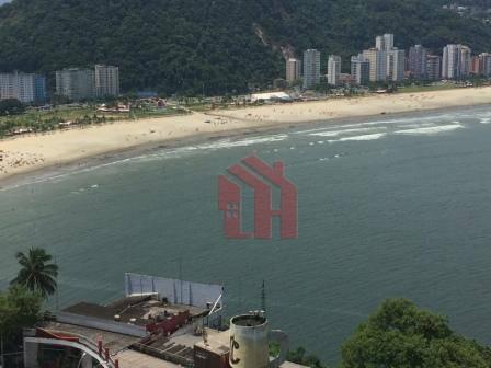 Kitnet com 1 dormitório para alugar, 34 m² por R$ 1.800,00/mês - Ilha Porchat - São Vicente/SP