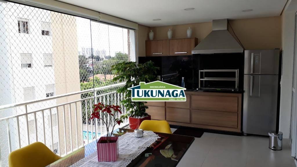 Apartamento Condomínio Isla 114m ² com 3 dormitórios à venda, 114 m² por R$ 760.000 - Vila Galvão - Guarulhos/SP